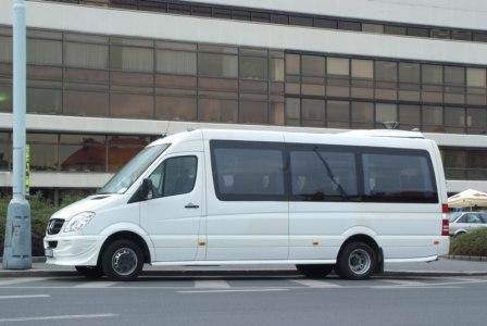 Minibus rental with driver in oslo norway for Mercedes benz sprinter rental